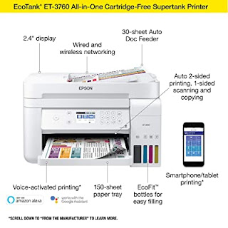 Epson EcoTank ET-3760 Printer Driver Download