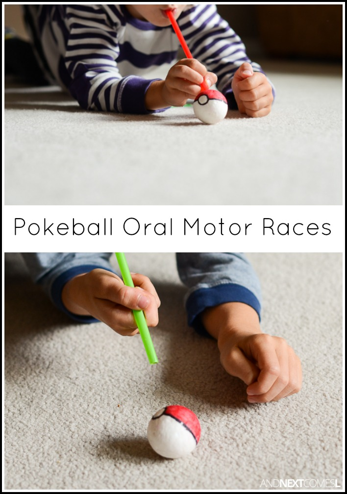 Pokeball Oral Motor Races And Next Comes L