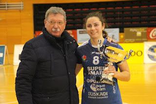 El Zuazo queda segundo en la Copa Euskadi de balonmano femenino tras el Bera Bera