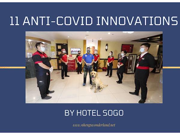 11 ANTI-COVID INNOVATIONS BY HOTEL SOGO