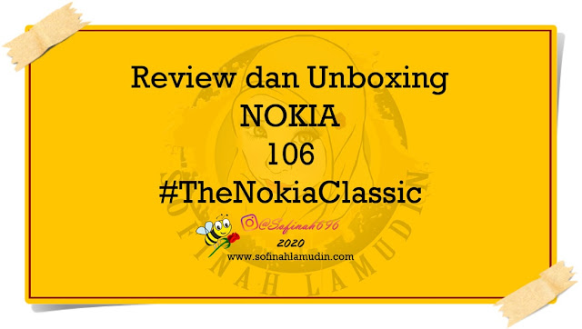 Review dan unboxing Nokia 106