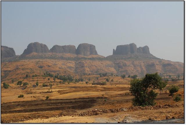 Harihar fort,Nashi fort
