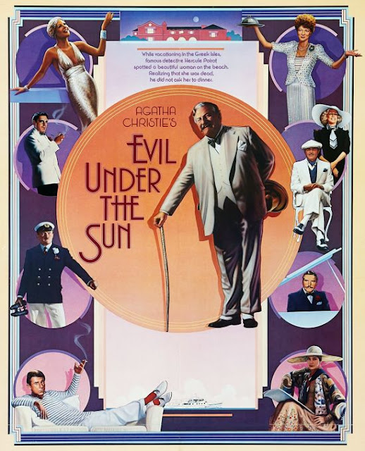 Original poster for Evil Under the Sun (1982)