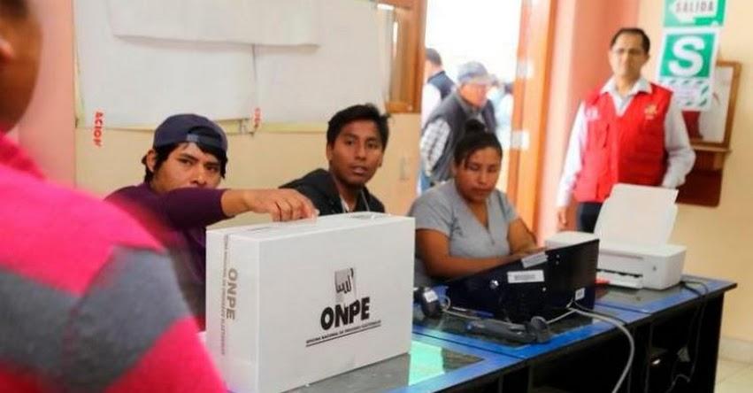 ONPE: Sepa cuánto es la multa para los miembros de mesa que no asistan - www.onpe.gob.pe