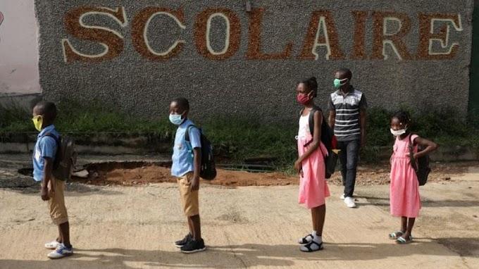 Ivorian schools reopen after virus shutdown