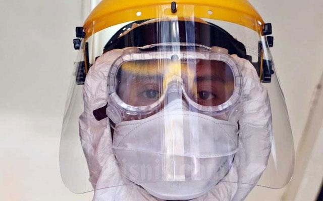 Helm Virus Corona