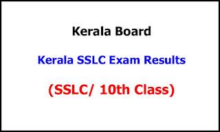 Kerala SSLC Exam Results 2021