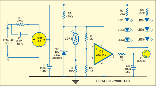 Strip Led Lamp Fast Diagrams