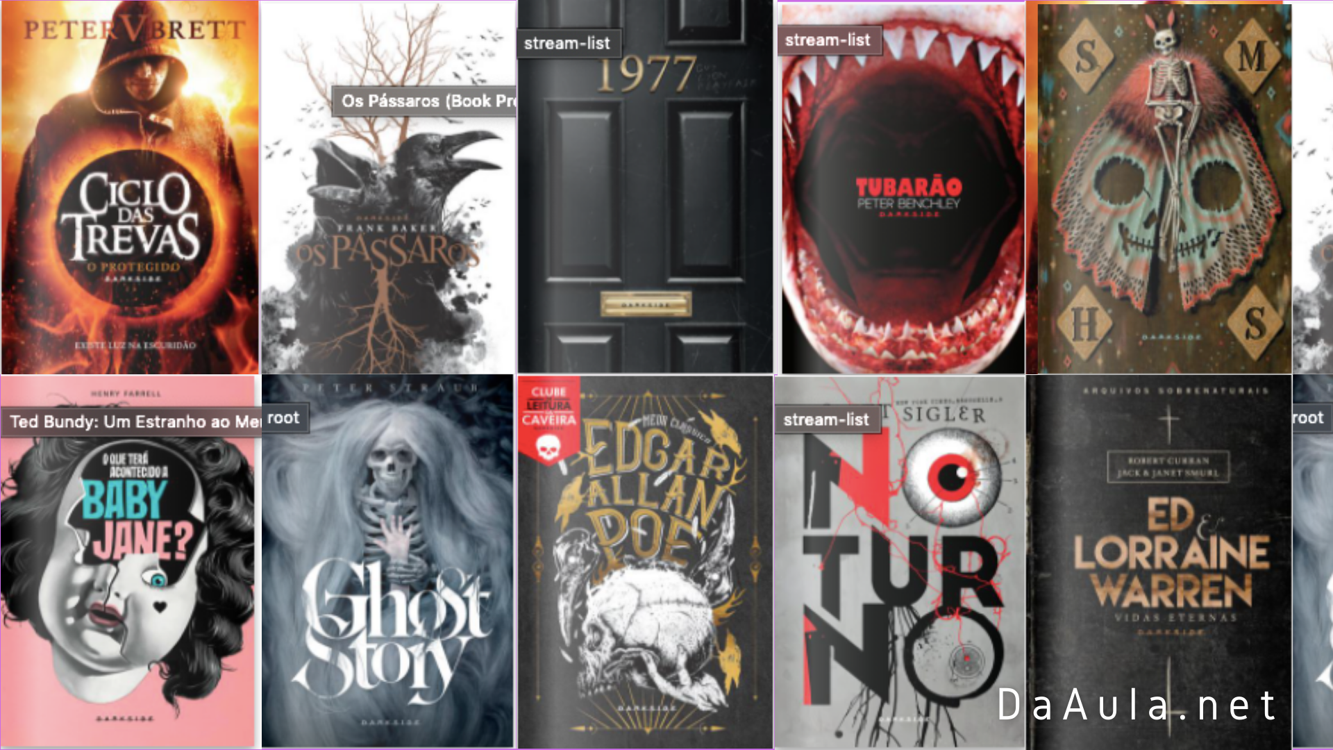 Livros de Terror e Suspense Download Gratuito