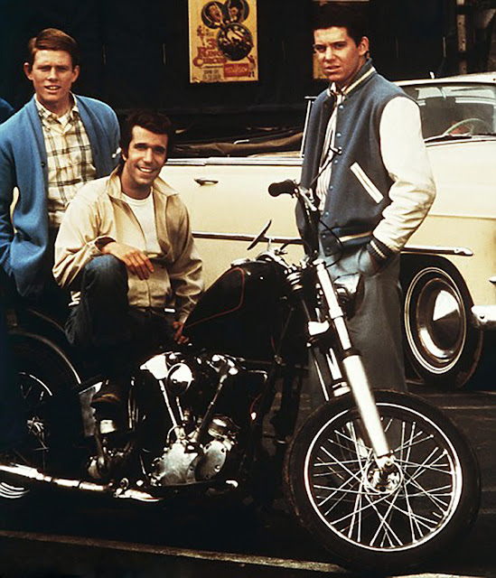 Henry Davidson Bike >> Aaaaeeeyyy, What Happened to Fonzie's Knucklehead? ~ Riding Vintage