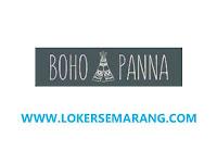 Lowongan Kerja Semarang Pattern Maker di Boho Panna