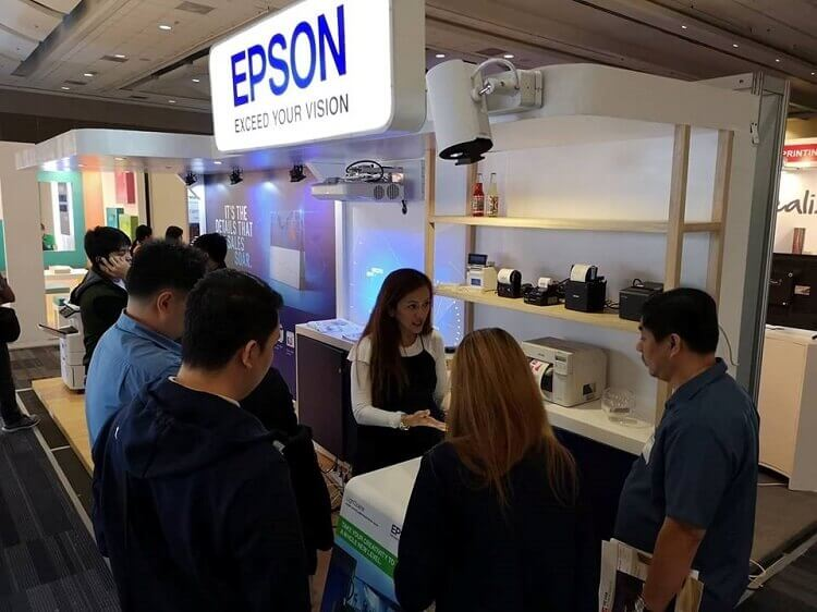 Epson Joins Stores Asia Expo 2018 to Showcase Its Latest Offerings