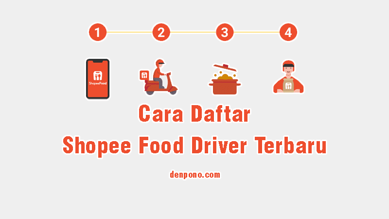 cara daftar shopee food driver terbaru