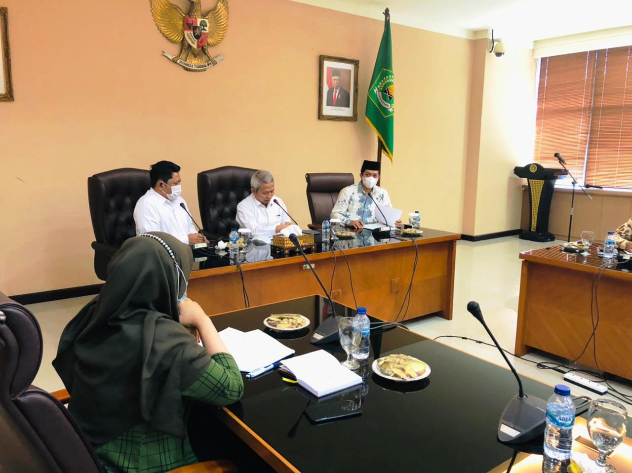 Terkait Kuota PPPK Guru PAI, Komisi A DPRD Kebumen Audiensi Temui Sekjen Kementerian Agama