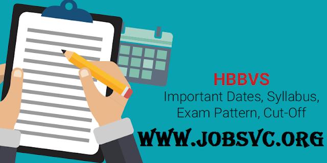 HBBVS Examination (2019) - Eligibility Criteria and Important Dates