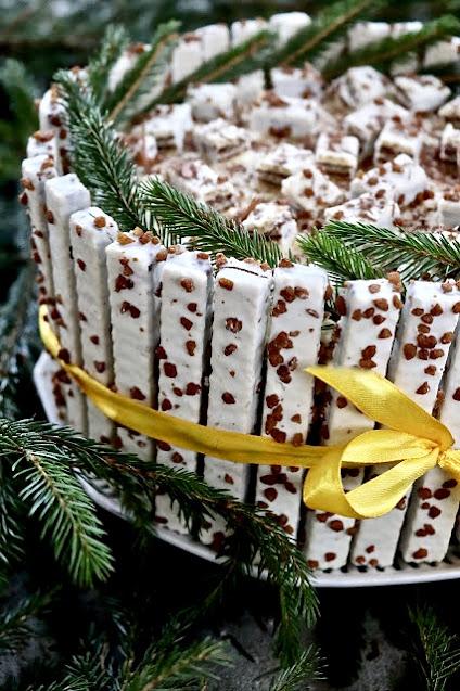 bożonarodzeniowy tort