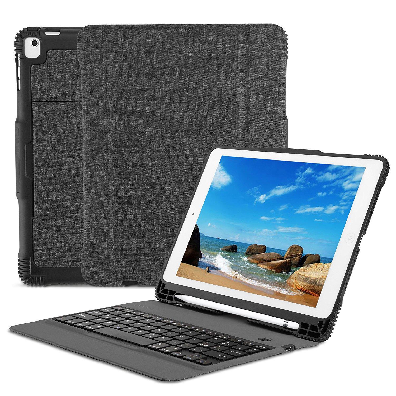Custodia con Tastiera Bluetooth per Nuovo iPad OMOTON®