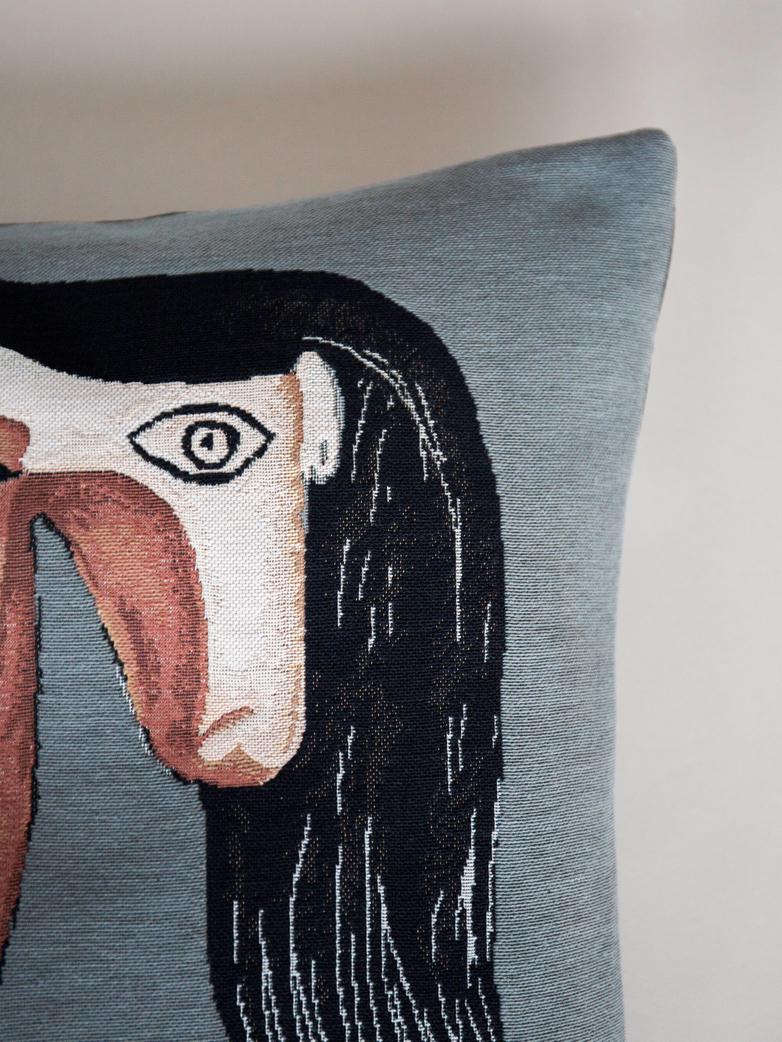Dzieło sztuki na poduszkach