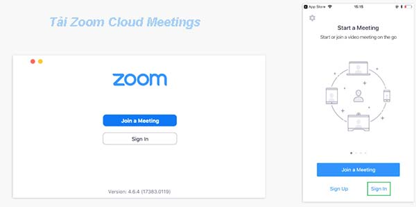 Cách sử dụng phần mềm Zoom Cloud Meetings a