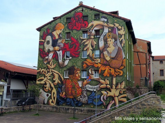 El triunfo de Vitoria, murales de Vitoria, País Vasco