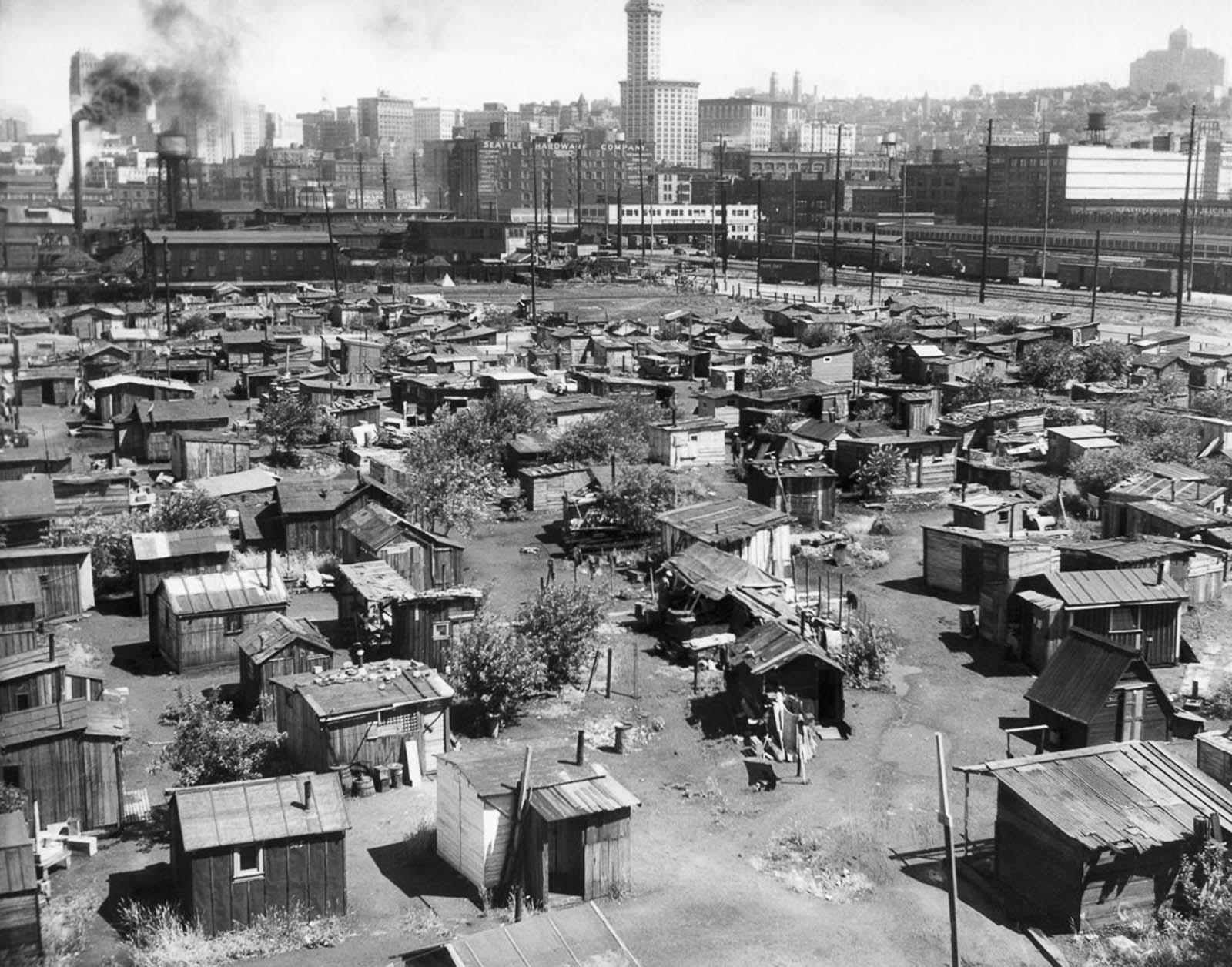 hoovervilles great depression photographs