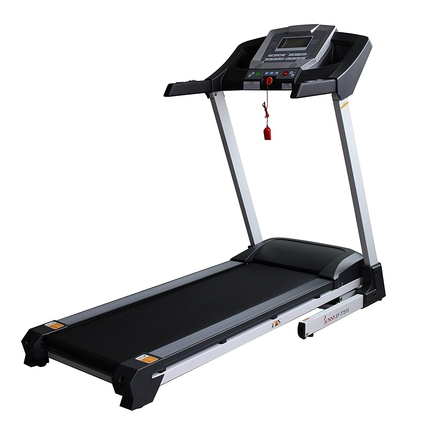 Life Fitness Treadmill Heart Rate Chart: Home Gym Zone: Sunny Health & Fitness SF-T7515 Versus SF