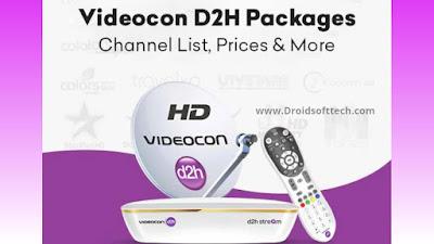 Videocon D2h Details