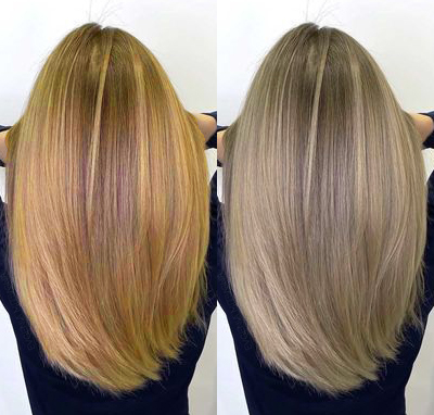 Czym farbować i jak pielęgnować włosy zgaszonego lata aby utrzymać ten specyficzny, chłodnawy, średni blond bez siwych ani żółtych pasm?