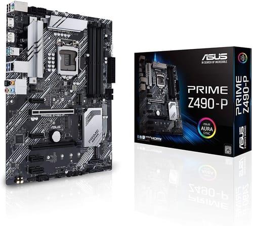 Review ASUS Prime Z490-P LGA 1200 Motherboard