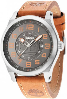 TIMBERLAND Tiden Brown Leather Strap 14644JS/05
