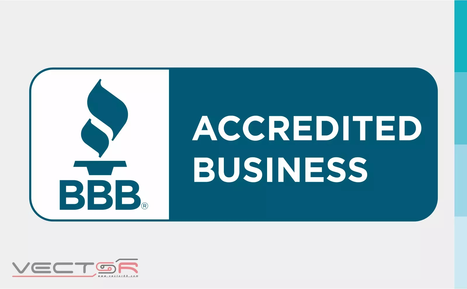 BBB Accredited Business Horizontal Seal - Download Vector File SVG (Scalable Vector Graphics)