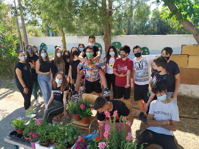 Αργολίδα: Περιβαλλοντικές δράσεις των μαθητών του Γυμνασίου Κουτσοποδίου