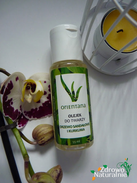 Orientana - Olejek do twarzy drzewo sandałowe i kurkuma