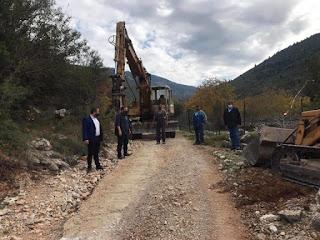 1 εκατ. € για τη βελτίωση της αγροτικής οδοποιίας