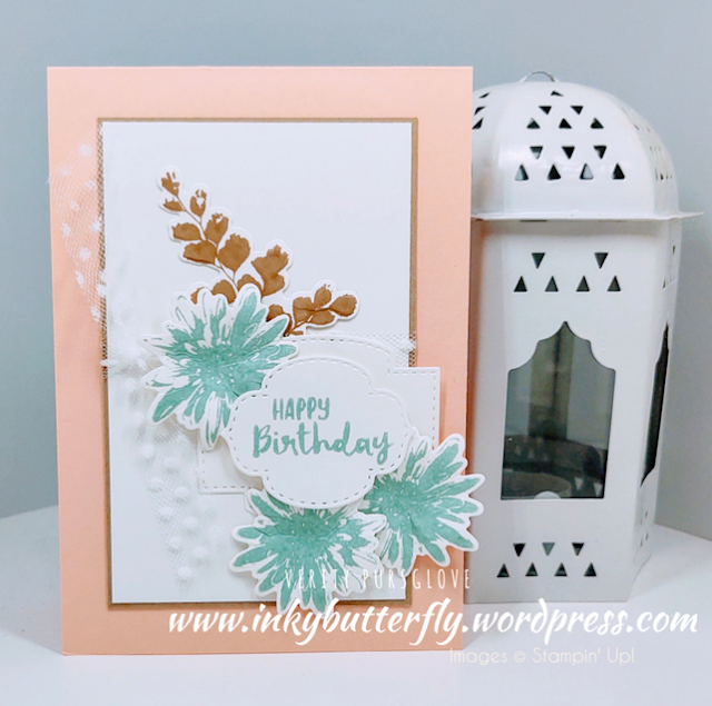 Nigezza Creates with Stampin' Up! & Inkybutterfly & Positive Thoughts