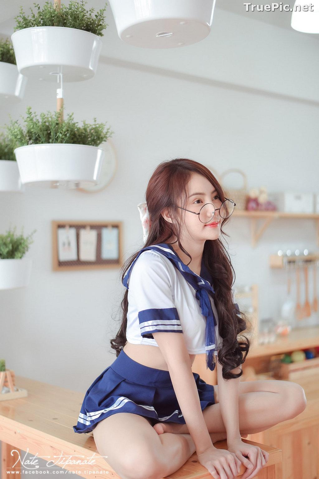 Image Thailand Model - Nattanicha Pw - Japanese School Girl Uniform - TruePic.net - Picture-2