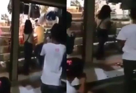 Video Cowok Ini Lempar Kue Ulang Tahun yang Dibawa Ceweknya