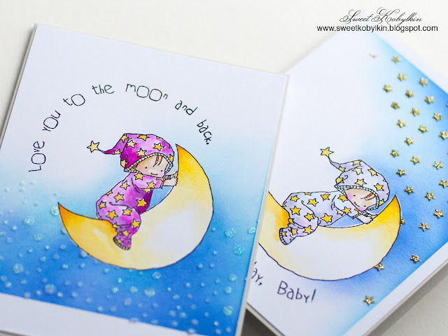 Birthday Baby Penny Black Stamps - Sweet Kobylkin 3