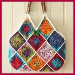 Bolso grannys crochet