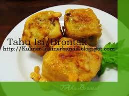Makanan ringan gorengan memang menjadi incaran para pecinta masakan untuk dijadikan cemil Resep Tahu Brontak Yogyakarta Yang Nikmat