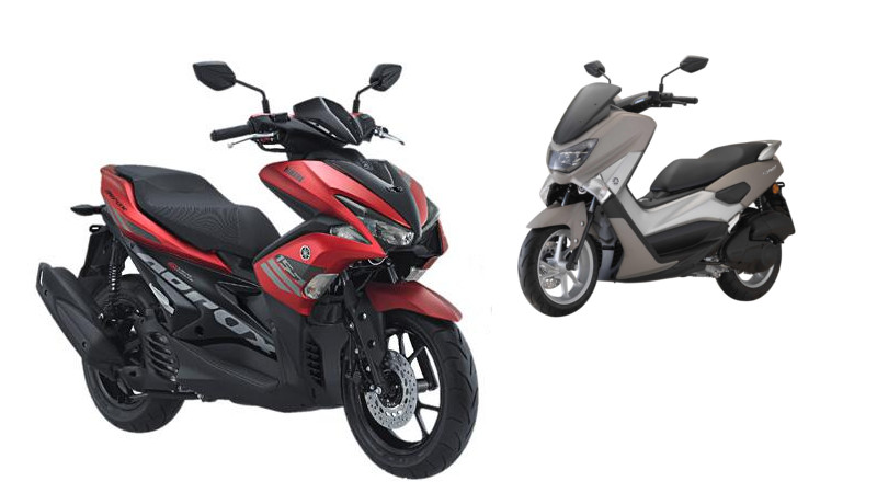 Yamaha Aerox 155 vs N-Max 155, the Differences | Small Biker