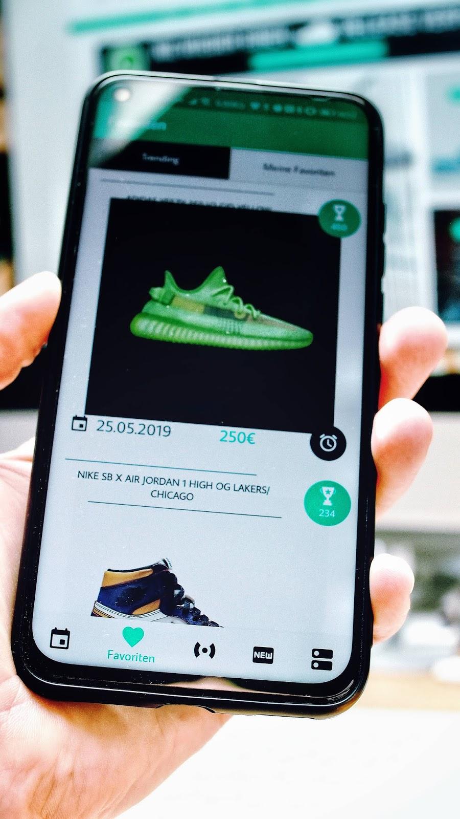 Grailify - Die App und Page für echte Sneakerheads |Der Webtipp aus dem Atomlabor