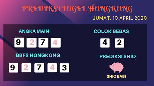 Prediksi HK Malam Ini Jumat 10 April 2020 - Prediksi Angka Hongkong