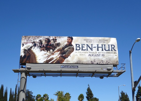 Ben Hur 2016 movie billboard