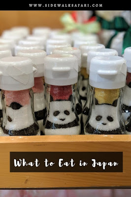 What to eat in Japan: Sugar that looks like a panda.