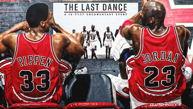 Michael Jordan junto a Scottie Pippen en 'The Last Dance' el documental de Netflix