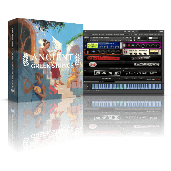 Soundiron Ancient Greek Strings KONTAKT Library