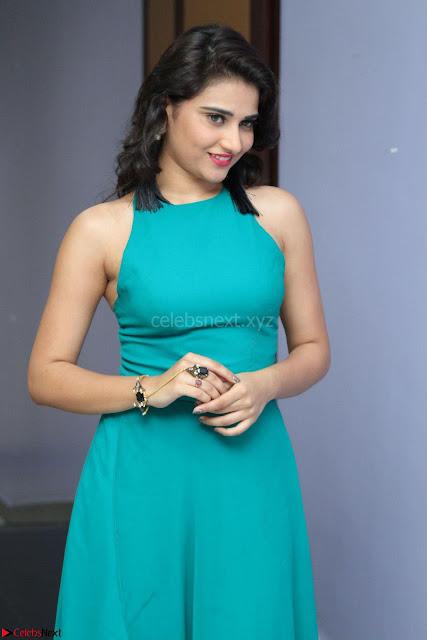 Priya Singh in a sleeveless Green Gown at Manasainodu music launch 011.08.2017 ~ Exclusive Celebrity Galleries 001.JPG