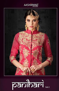 PANIHARI VOL 2 Aashirwad creation SUITS WHOLESALER LOWEST PRICE SURAT GUJARAT