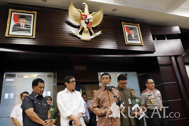 Wiranto Minta Umat Islam Jaga Stabilitas Keamanan